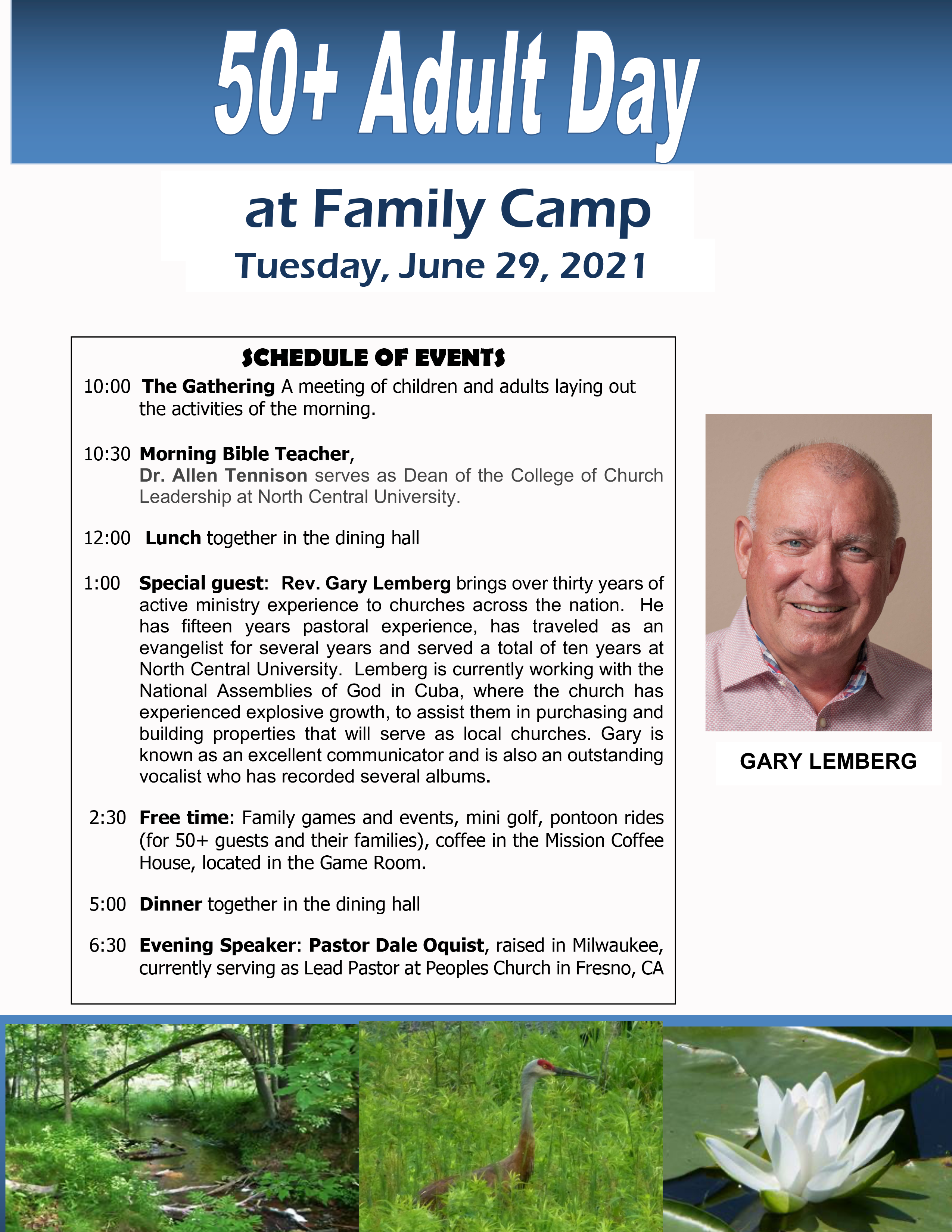 Corrected 202150+ Day at Family Camp Flyer